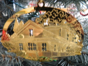 A Christmas ornament of Kingston Station, the station filled with my fondest of railroading memories.