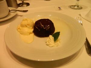 Royal Caribbean Chocolate layer cake