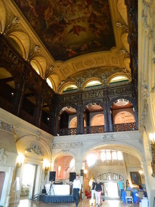Ochre Court's Great Hall is one of the most majestic spaces anywhere. Every December, it is the site of the annual Governor's Ball.