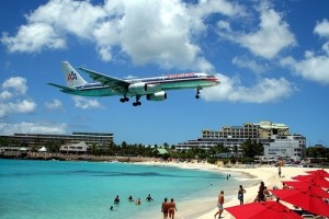 St. Maarten's Maho Bay is a must-visit. The Princess Juliana Airport runway is less than 100 ft. from the beach.