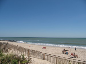 Separated from the hustle and bustle of Pt. Pleasant Beach and Seaside Heights, Bay Head's beach is one of the most tranquil beaches in Ocean County.