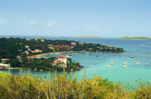 Colorful, but tranquil, St. John's Cruz Bay welcomes adventurous travelers from all over the world.