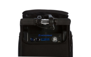 The Modog's battery is powerful enough to charge everyday electronic devices, including iPods and cell phones.