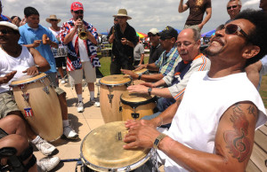 Puerto Rico is rich in history and culture. Angel Garcia-Rivera participates in an impromptu jam on island.