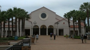 The Basilica of The National Shrine of Mary, Queen of The Universe was opened on January 31st, 1993.